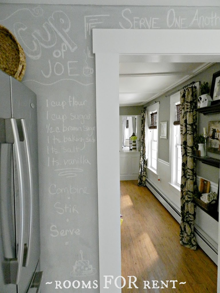 Making Your Own Chalkboard Paint In Any Color Rooms For