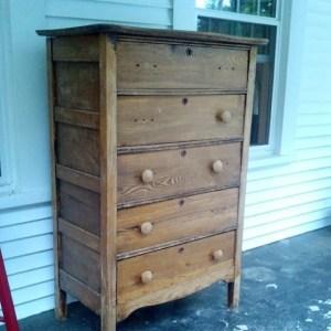 $5 Dresser Re-Do