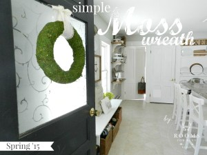 Simple Moss Wreath
