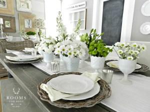 Spring Dining Room {2015}
