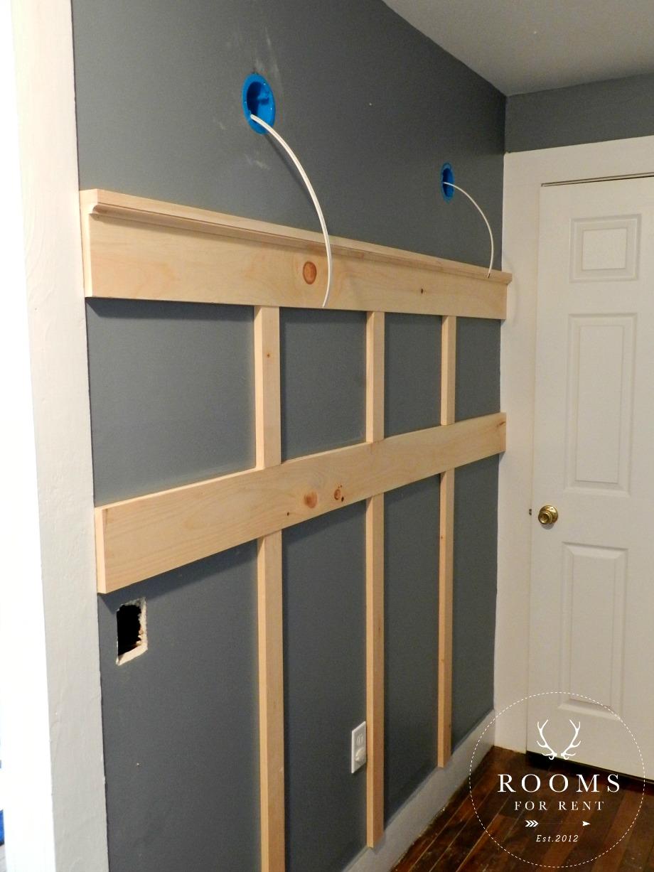 Board & Batten Tutorial & a GIVEAWAY!! - Rooms For Rent blog