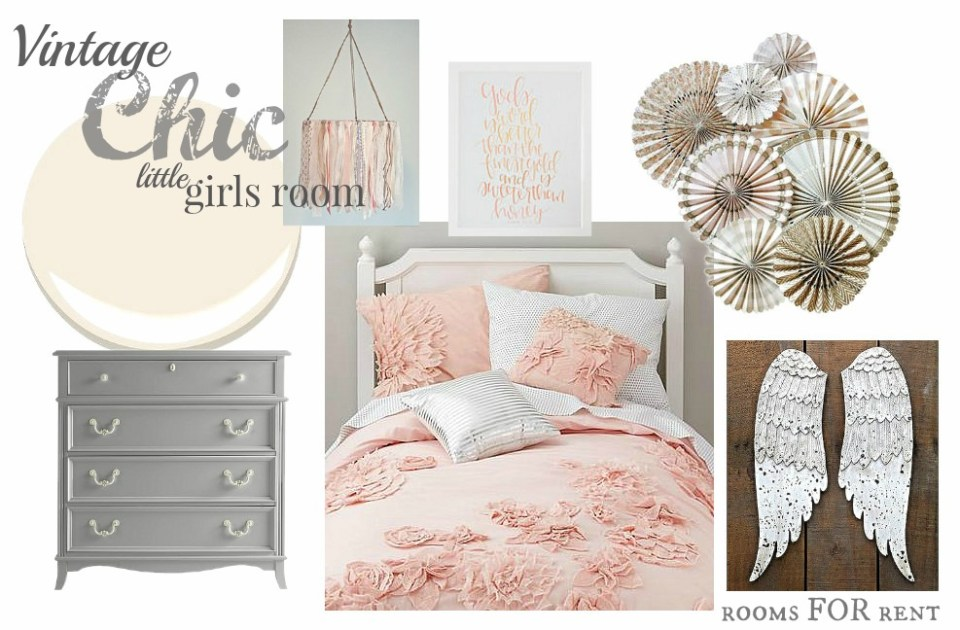 little girl room inspiration rooms for rent blog. Black Bedroom Furniture Sets. Home Design Ideas