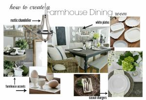 How to Create a Farmhouse Dining Room