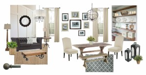 Lowe's Fall Makeover Design Plan