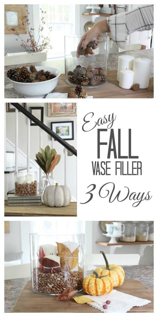 Easy Fall Vase