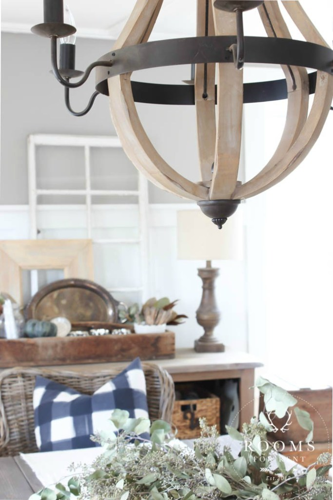 close up chandelier