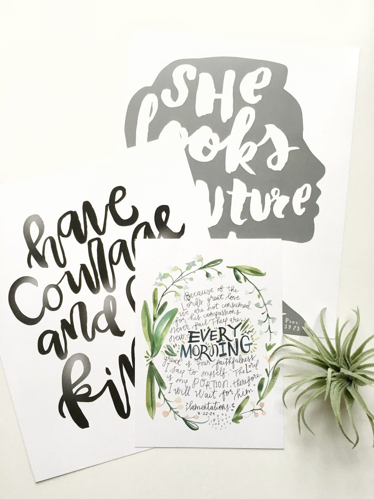 Maker + Ink, Inspiring artwork to spur on your faith