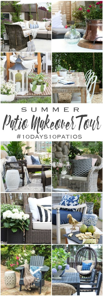 Summer Patio Makeover Tour