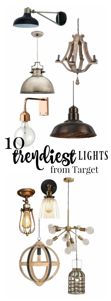 Top 10 Trendiest Lights from Target