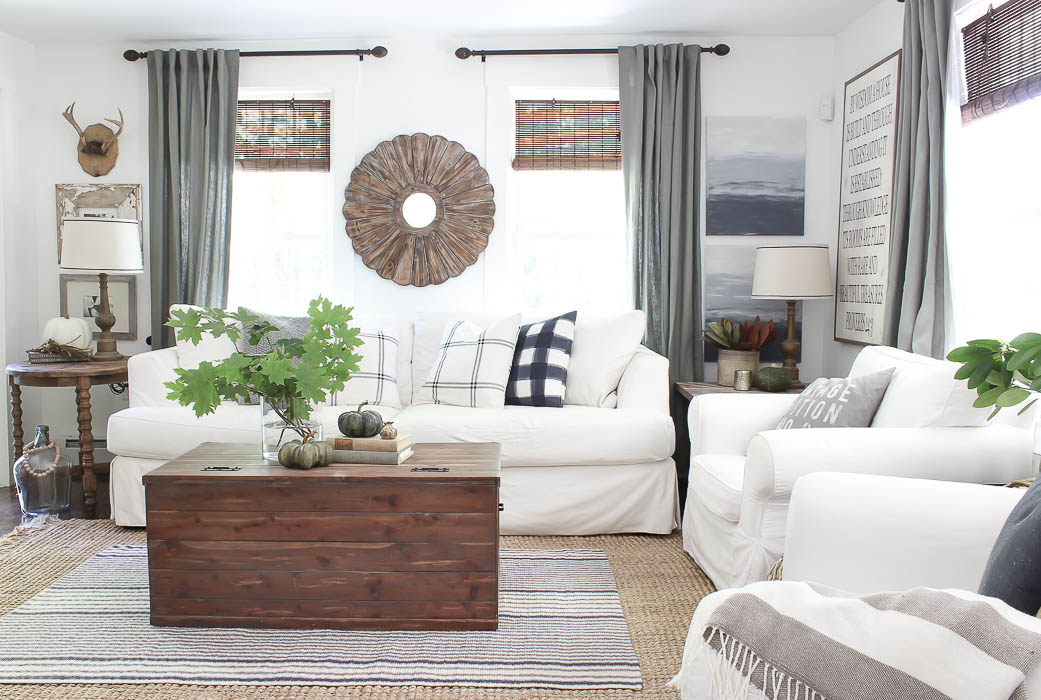 Fall Living Room Decor | Rooms FOR Rent Blog