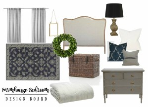 Farmhouse Bedroom Makeover Details