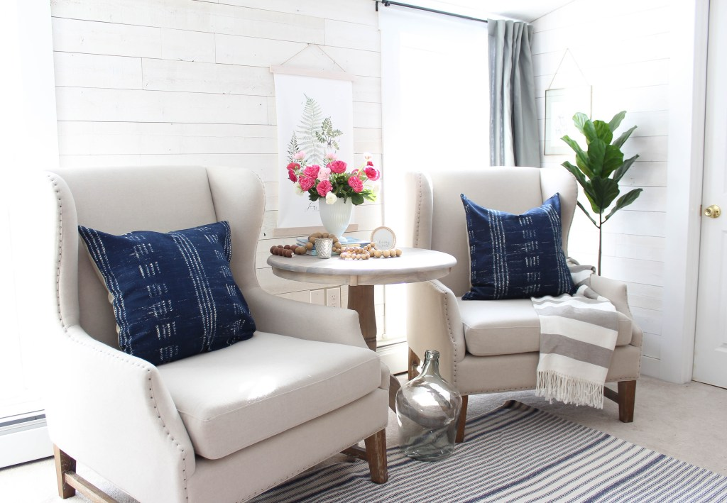 Spring Touches in the Mom Cave | Rooms FOR Rent Blog