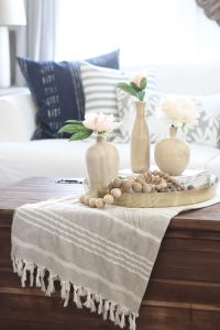 Decorating Seasonally : Coffee Table edition