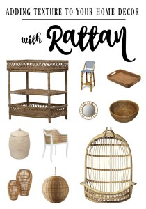Incorporating Rattan in your Home Decor