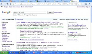 How to find latest available rooms via Google