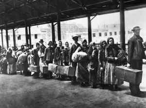 Ellis Island in 1892