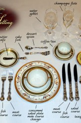 Royal Table Setting