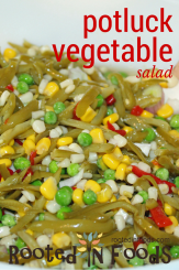 potluck vegetable salad