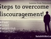 discouragement