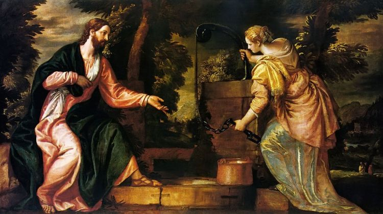 Christ and the Woman at the Well by Veronese