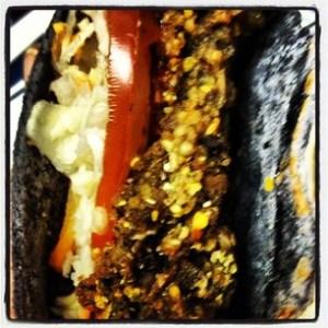 Black Bean Burger Taco