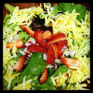 CSA Sweet Summer Salad