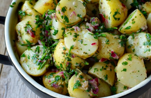 Chimichurri Potato Salad