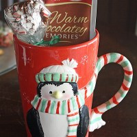 christmas and hot chocolate mugs gift sets