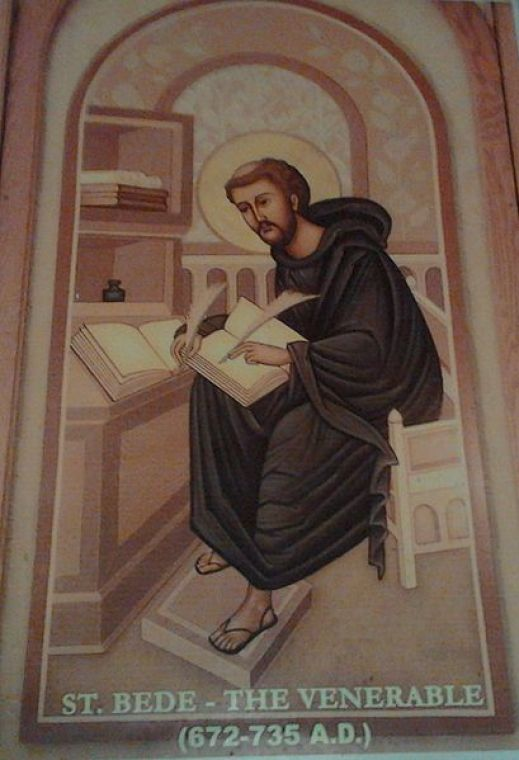 410px-Depiction_of_St__Bede_the_Venerable_(at_St__Bede's_school,_Chennai)_-_Image_has_been_cropped_for_better_presentation