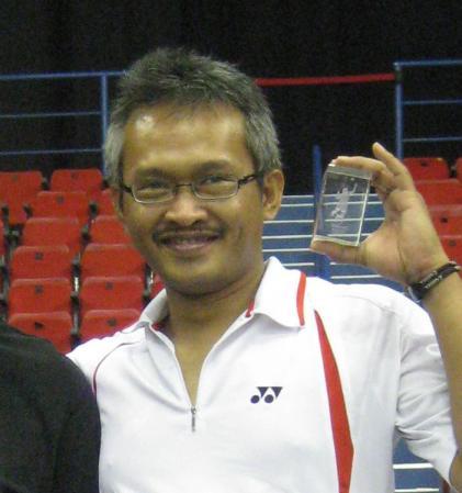 Mantan atlet badminton