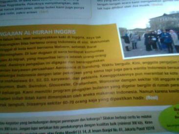 Pengajian Al Hijrah Bristol Inggris