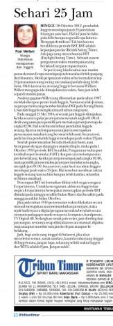 Artikel Tribun Timur
