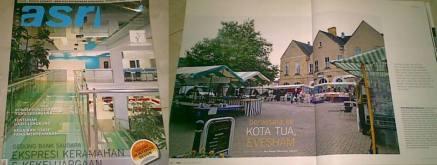 Artikel perjalanan, Majalah Griya Asri