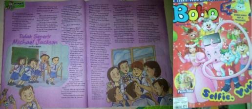 cerpen anak di majalah bobo karya Rosi Meilani