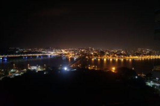 Vista da cobertura do Mercure em Florianópolis
