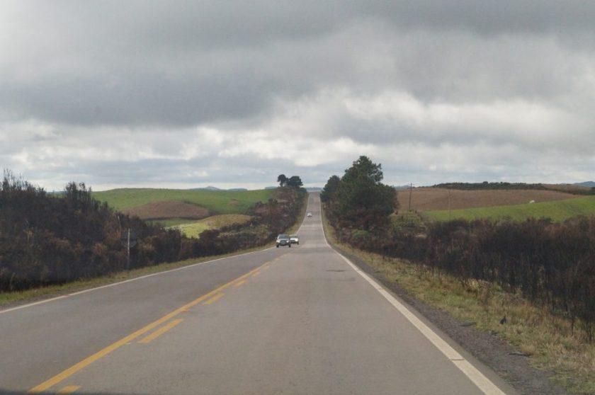 Estrada longa até São José