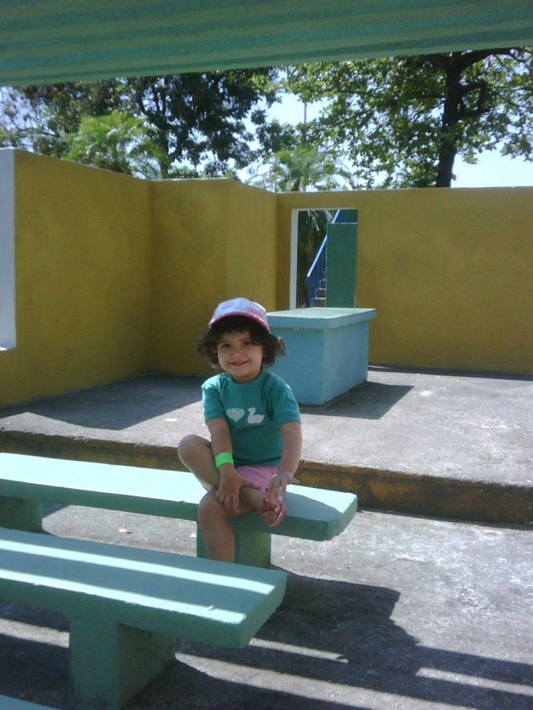 Bia com 3 aninhos no Parque das Crianças