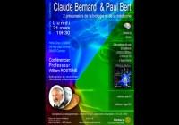 Conférence : Claude Bernard  & Paul Bert