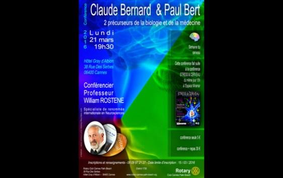 Claude Bernard & Paul Bert