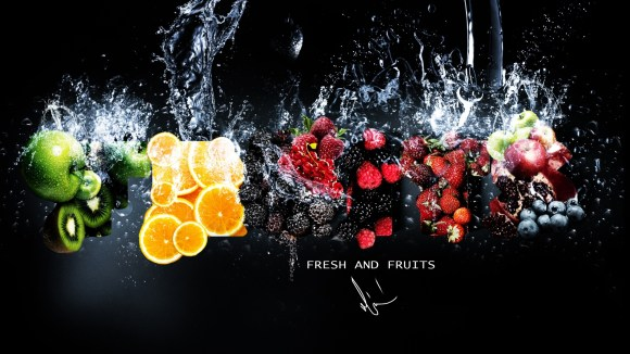 Sinking-Fruits-Wallpaper