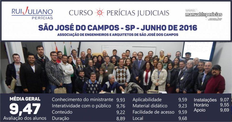 Faça o PRÓXIMO curso Perícias Judiciais em São José do Campos - CLIQUE AQUI