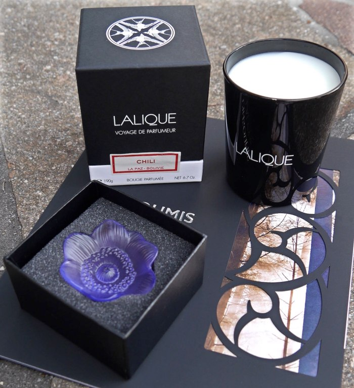 Autumn Lalique And Yankee Candles