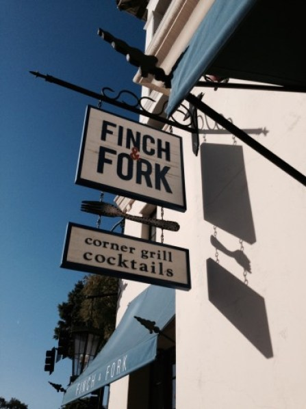 Finch and Fork Restaurant exterior
