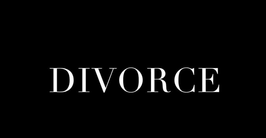 What I think Divorce is really all about.