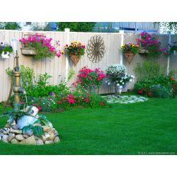 Small Crop Of Backyard Garden Decor