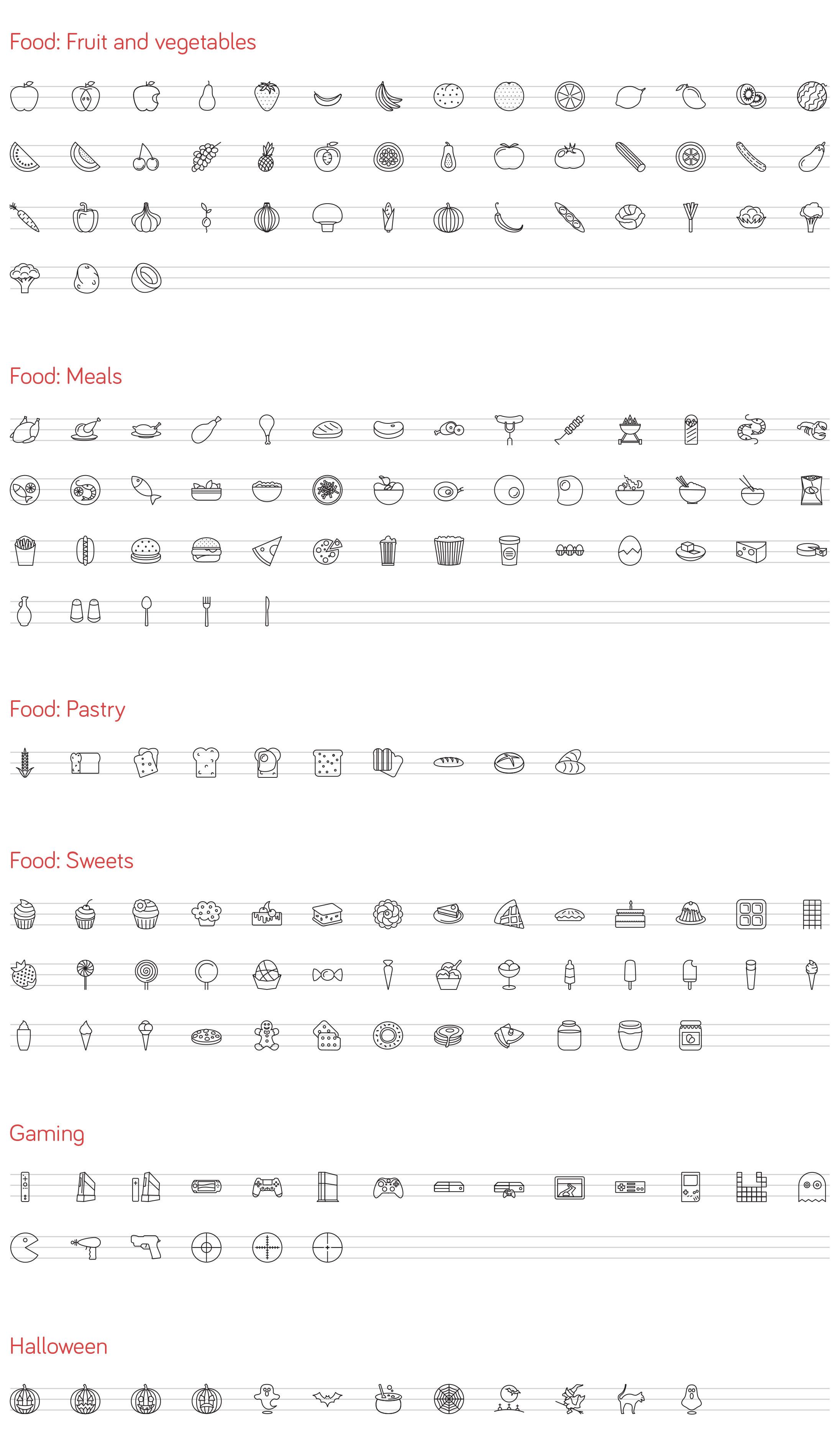 line-icons-ios-8-set