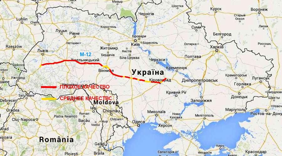Подробно маршрут на карте
