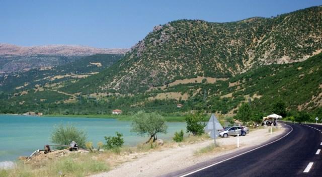 Lake Egirdir - seen from the road