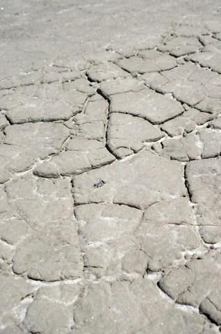 very interesting soil texture - Lake Tuz