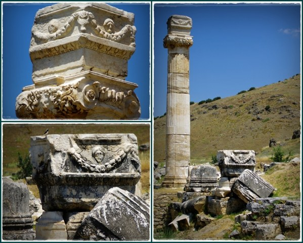 Hierapolis - some details of ornaments